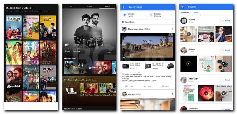 Flipkart Videos And Instagram Like Flipkart Ideas Launched On Android Waraqu E Taza